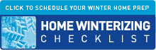 Winterizing Checklist